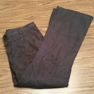Level 99 flare leg pants, 32x30, black, dark grey